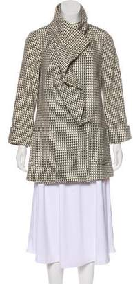 Loeffler Randall Printed Wool Coat