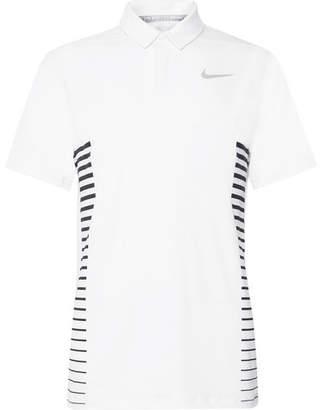 Nike Dry Striped Dri-FIT Golf Polo Shirt