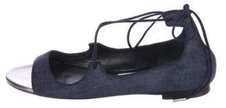Jimmy Choo Vernie Denim Sandals
