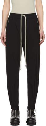 Rick Owens Black Drawstring Lounge Pants