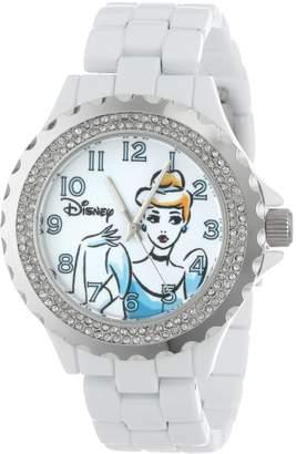 Disney Women's W001002 Cinderella Enamel Watch