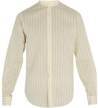 BEIGE Arjé Arje - The Oli Mondrian Striped Shirt - Mens