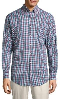 Peter Millar Collier Plaid Button-Down Shirt