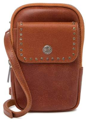 Most Wanted Design by Carlos Souza Mini Rocket Double Use Leather Crossbody