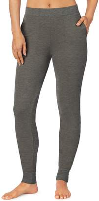 Cuddl Duds Plus Size Strecth Waffle Thermal Leggings