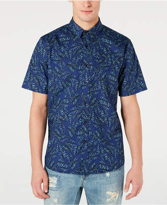 American Rag Men Leaf Lines Shirt