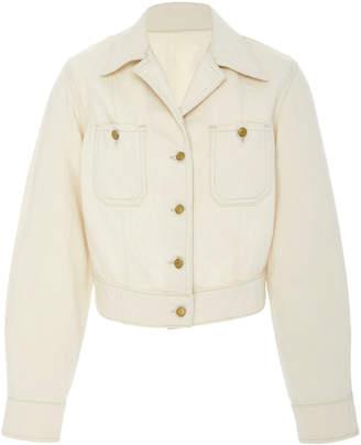 B Sides Clair Cropped Denim Jacket