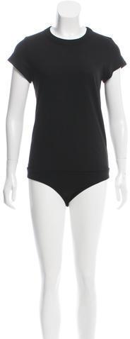 Alexander WangT by Alexander Wang Short Sleeve Bodysuit w/ Tags