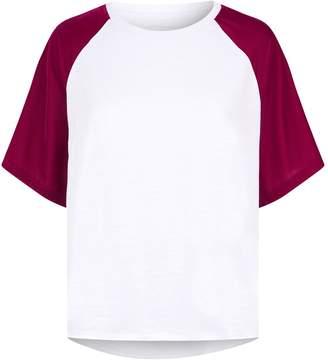 Current/Elliott Current Elliott Velvet Raglan T-Shirt