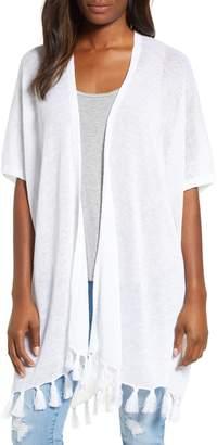 Tommy Bahama Lea Long Linen Cardigan