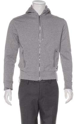 Acne Studios Zip Hooded Sweat Jacket