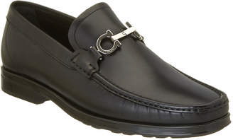 Salvatore Ferragamo Double Gancio Bit Leather Loafer