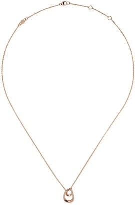 Georg Jensen 18kt rose gold Offspring pendant necklace