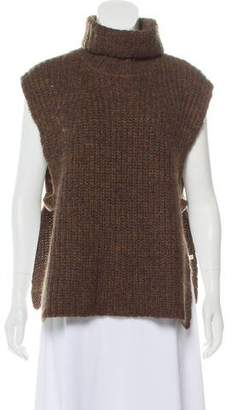 Etoile Isabel Marant Wool Heavy Sleeveless Turtleneck Sweater 2d3902182