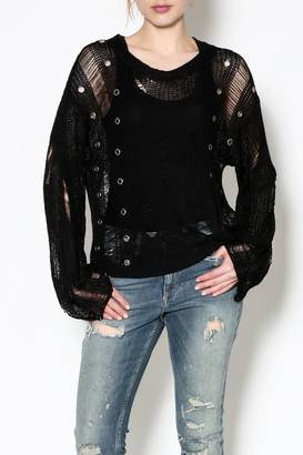 Rehab Distressed Sweater $36.99 thestylecure.com
