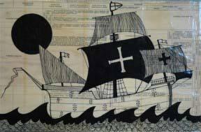 Lisa Congdon Large Ship