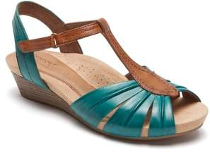 Rockport Cobb Hill Hollywood Pleat Wedge Sandal