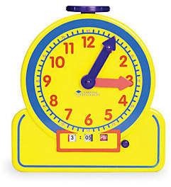 Learning Resources The Time Teacher Junior Learning Clock by Learn