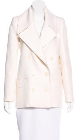 Carven Carven Double-Breasted Wool Coat