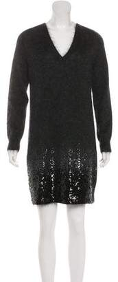 Louis Vuitton Sequined Sweater Dress w/ Tags
