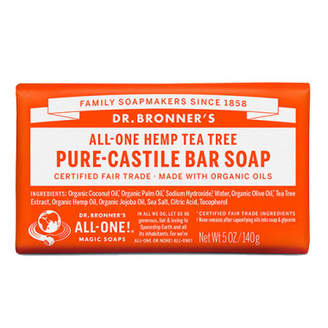 Dr. Bronner's Dr. Bronner Castile Bar Soap - Tea Tree