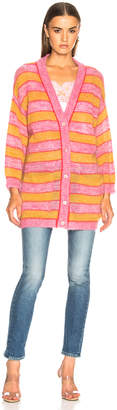 Alberta Ferretti Striped Cardigan