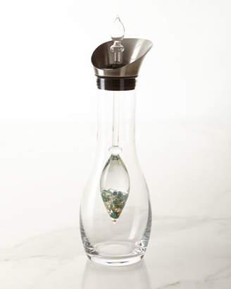 Gem Water by VitaJuwel Era Decanter and Prosperity Gem-Water Vial Set