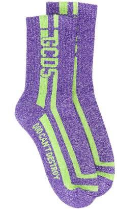 GCDS lurex socks