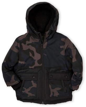 Michael Kors Toddler Boys) Camo Puffer Jacket