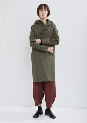 MACKINTOSH Rubberised Hooded Single Breasted Coat