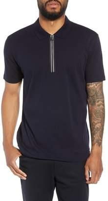 HUGO Dazel Quarter Zip Polo Shirt