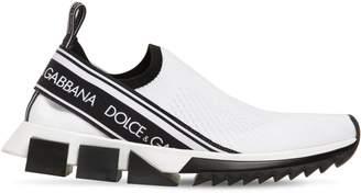 Dolce & Gabbana 30mm Logo Sock Sneakers