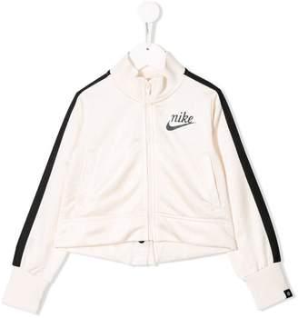 Nike side stripe track jacket
