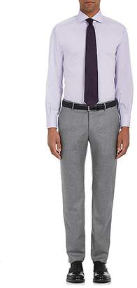 Barneys New York MEN'S COTTON-BLEND POPLIN DRESS SHIRT