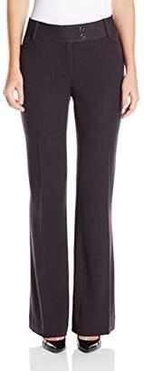 Rafaella Women's Petite Curvy-Fit Gabardine Trouser
