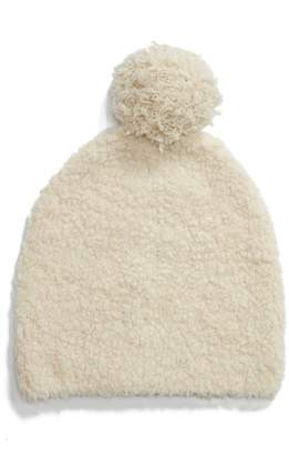 Vince Teddy Wool & Cashmere Blend Pom Beanie