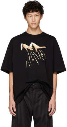 Lanvin Black Magic Hands T-Shirt