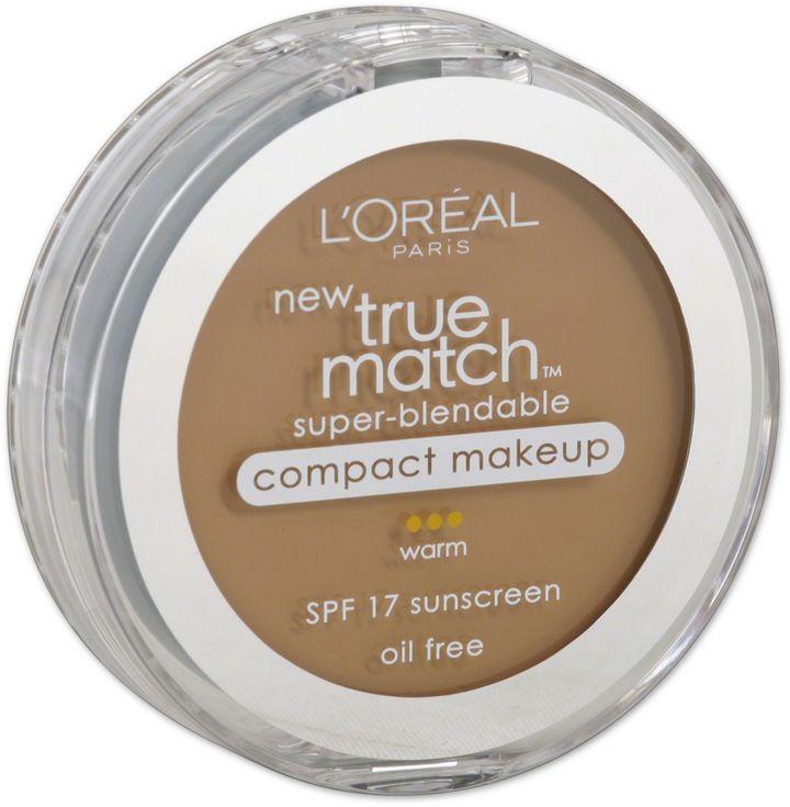 L'Oreal® Paris True Match Super Blendable Compact SPF 17 Makeup Natural Beige