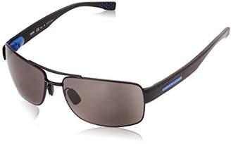 HUGO BOSS BOSS by Men's B0801s Rectangular Sunglasses