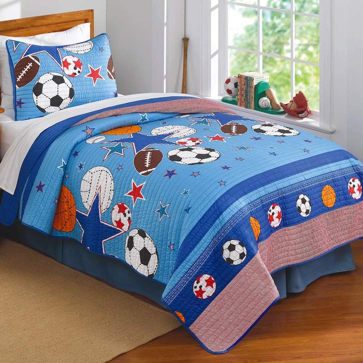 Kohl's Sports and Stars Quilt Set