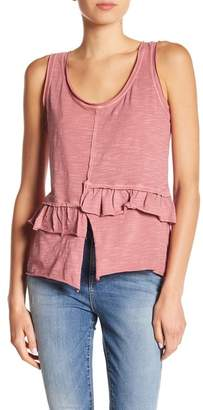 William Rast Sarah Ruffle Tank Top