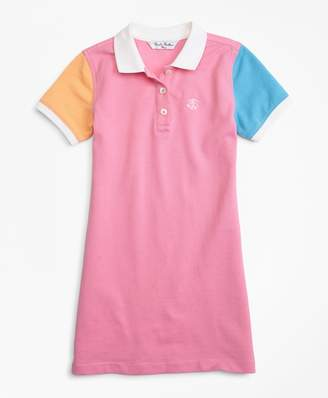 Brooks Brothers Fun Cotton Pique Polo Dress
