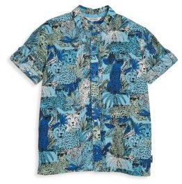Little Marc Jacobs Little Marc Jacobs Toddler's, Little Boy's & Boy's Play It Loud Leopard Graphic Shirt