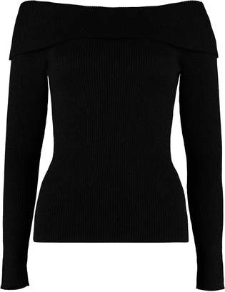 P.A.R.O.S.H. Off-shoulders Pullover