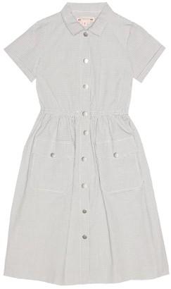 Bonpoint Louison checked cotton dress