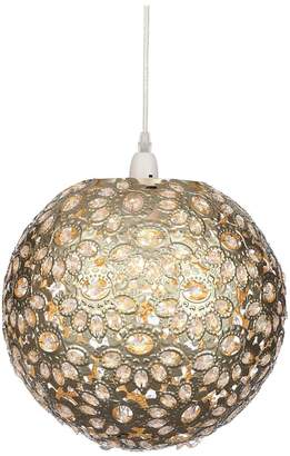 Very Champagne Metalwork Ball Easy-Fit Pendant