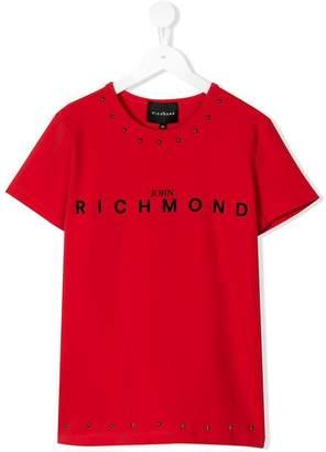 John Richmond Junior TEEN embellished T-shirt
