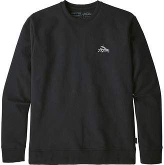 Patagonia Small Flying Fish Uprisal Crew Sweatshirt - Men's