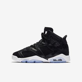 Air Jordan 6 Retro Premium Heiress Big Kids' Shoe $160 thestylecure.com