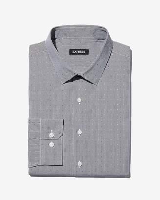 Express Extra Slim Fit Check Dress Shirt
